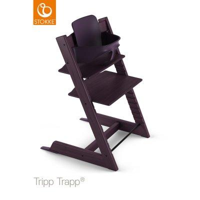 Fauteuil bébé tripp trapp baby set prune Stokke