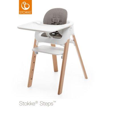 Coussin fauteuil bébé steps greige Stokke