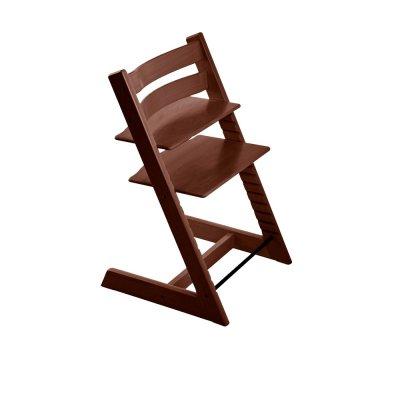Chaise haute bébé évolutive tripp trapp noyer Stokke