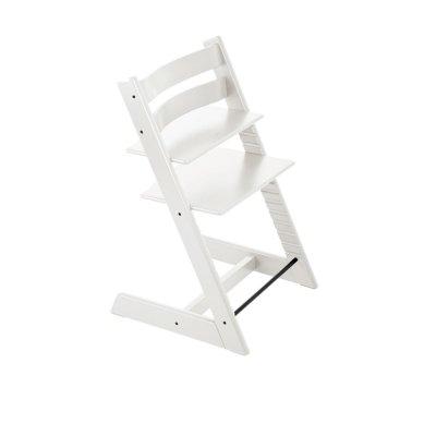 Chaise haute bébé évolutive tripp trapp blanc Stokke