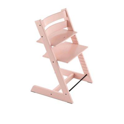 Chaise haute bébé évolutive tripp trapp rose serein Stokke
