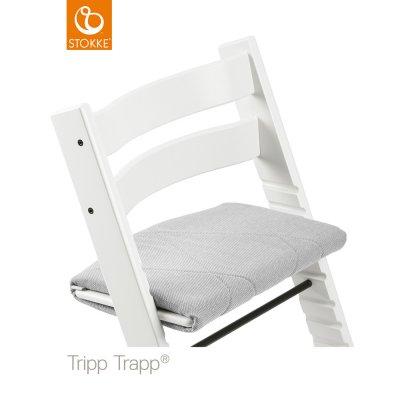 Coussin fauteuil adulte tripp trapp croisé ardoise Stokke