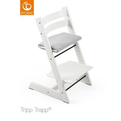 Coussin fauteuil junior tripp trapp croisé ardoise Stokke