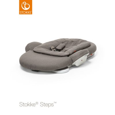 Transat bébé steps greige Stokke