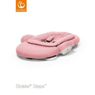 Transat bébé steps rose Stokke