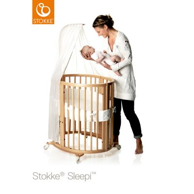 Lit bébé sleepi mini naturel Stokke