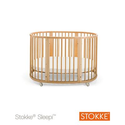 Kit d'extension lit sleepi naturel Stokke