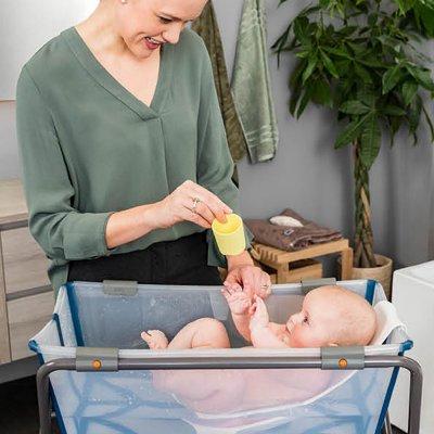 Support de baignoire bébé flexibath gris Stokke