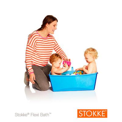 Baignoire bébé flexibath bleu Stokke