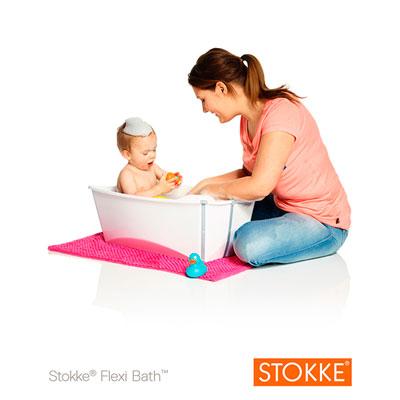 Baignoire bébé flexibath blanc Stokke