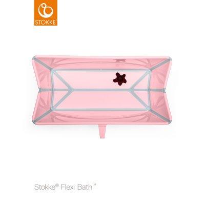 Baignoire bébé flexibath rose Stokke