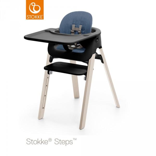 tablette chaise steps noir sur allob b. Black Bedroom Furniture Sets. Home Design Ideas