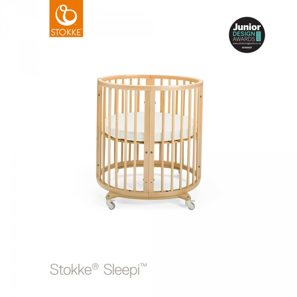 lit b b sleepi mini naturel sur allob b. Black Bedroom Furniture Sets. Home Design Ideas