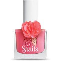 Vernis à ongles pour enfant snails fleur collection rose