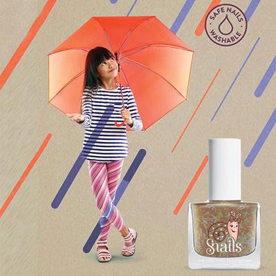 Vernis à ongles pour enfant snails gold rain Snails