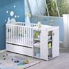 Lit chambre transformable 60x120 en lit junior 90x190 nino Sauthon meubles