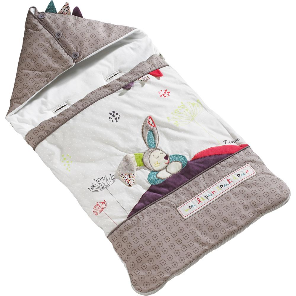 nid d 39 ange 80cm nomade tinoo de sauthon baby deco sur allob b. Black Bedroom Furniture Sets. Home Design Ideas