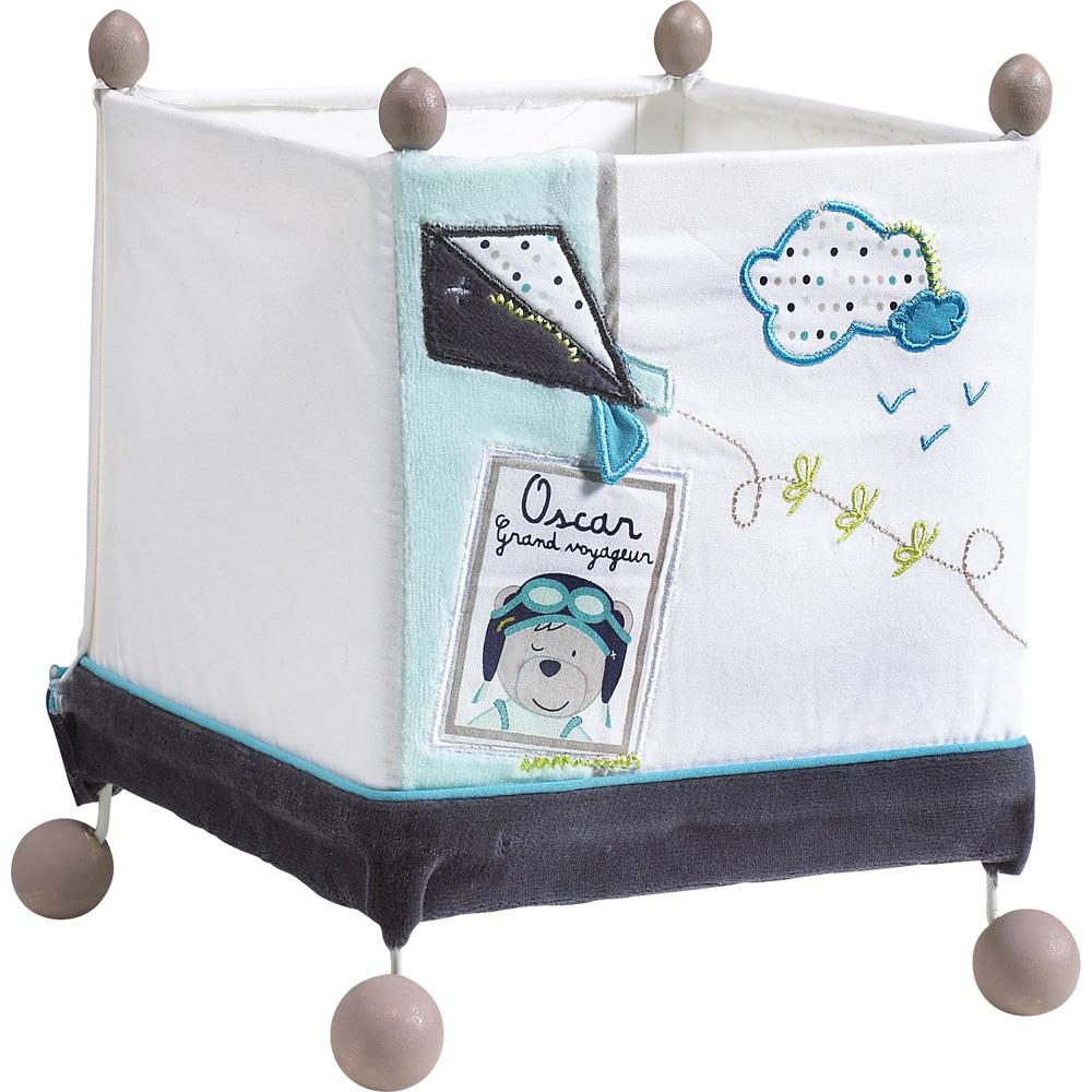 luminaire chambre b b lazare de sauthon baby deco chez naturab b. Black Bedroom Furniture Sets. Home Design Ideas