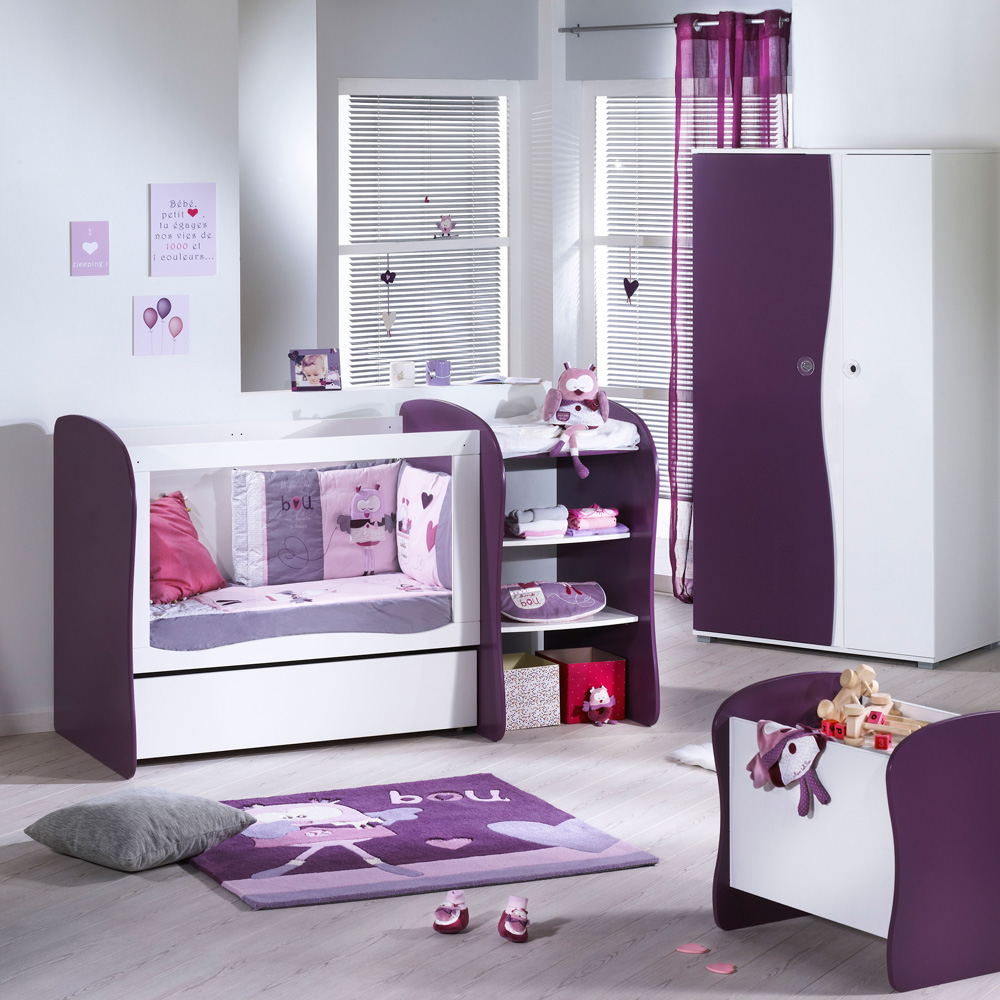 lit chambre transformable 120x60 pop violette 30 sur allob b. Black Bedroom Furniture Sets. Home Design Ideas