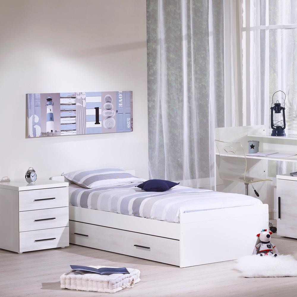 lit chambre transformable 70 x 140 cm zen rivage 30 sur allob b. Black Bedroom Furniture Sets. Home Design Ideas
