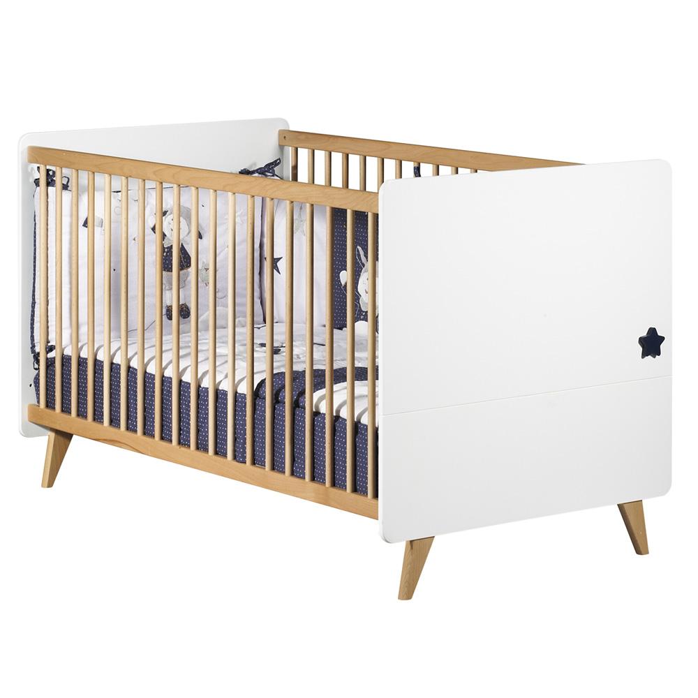 Lit little big bed 70x140cm oslo de sauthon meubles sur for Lit oslo sauthon