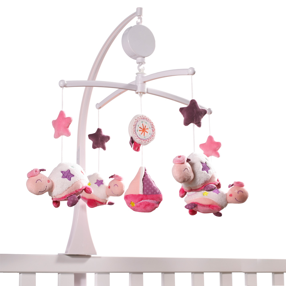 Mobile b b musical tess 40 sur allob b - Mobile musical bebe fille ...