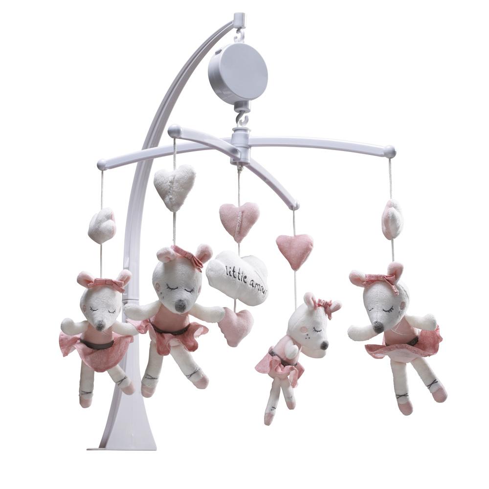 foto de Mobile bébé musical lilibelle de Sauthon baby deco sur allobébé