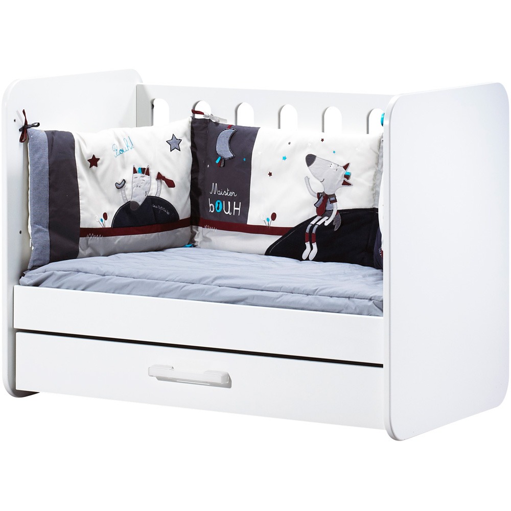chambre b233b233 trio astride blanc avec armoire 2 portes de