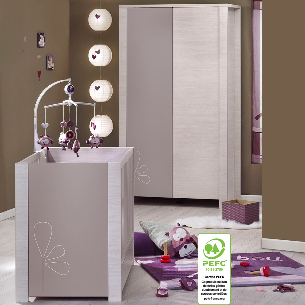 Chambre enfant taupe for La redoute chambre bebe