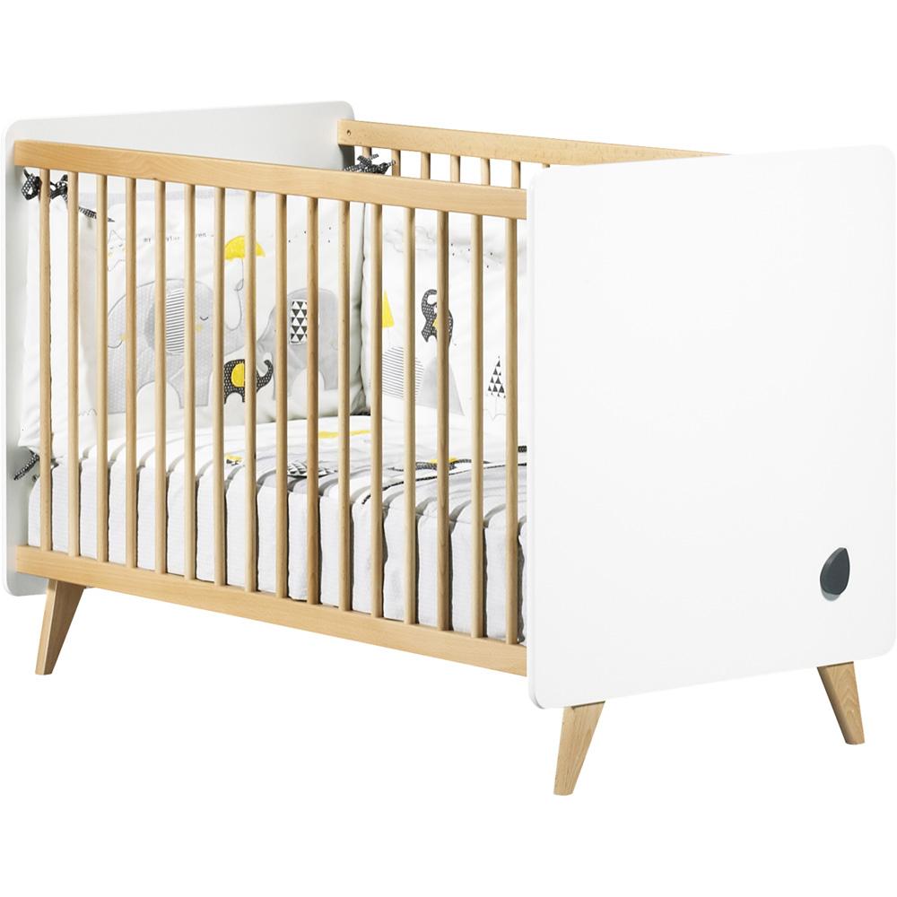 chambre b b duo lit commode oslo bouton goutte de sauthon meubles sur allob b. Black Bedroom Furniture Sets. Home Design Ideas