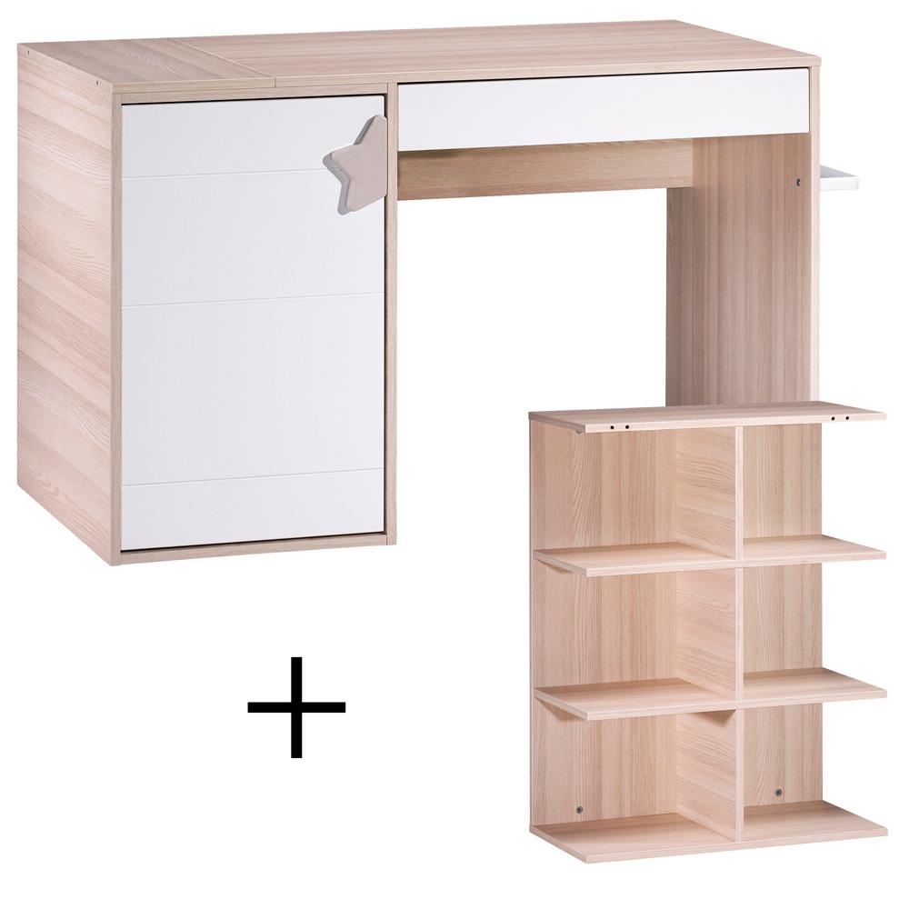 commode langer volutif en bureau norway de sauthon meubles sur allob b. Black Bedroom Furniture Sets. Home Design Ideas