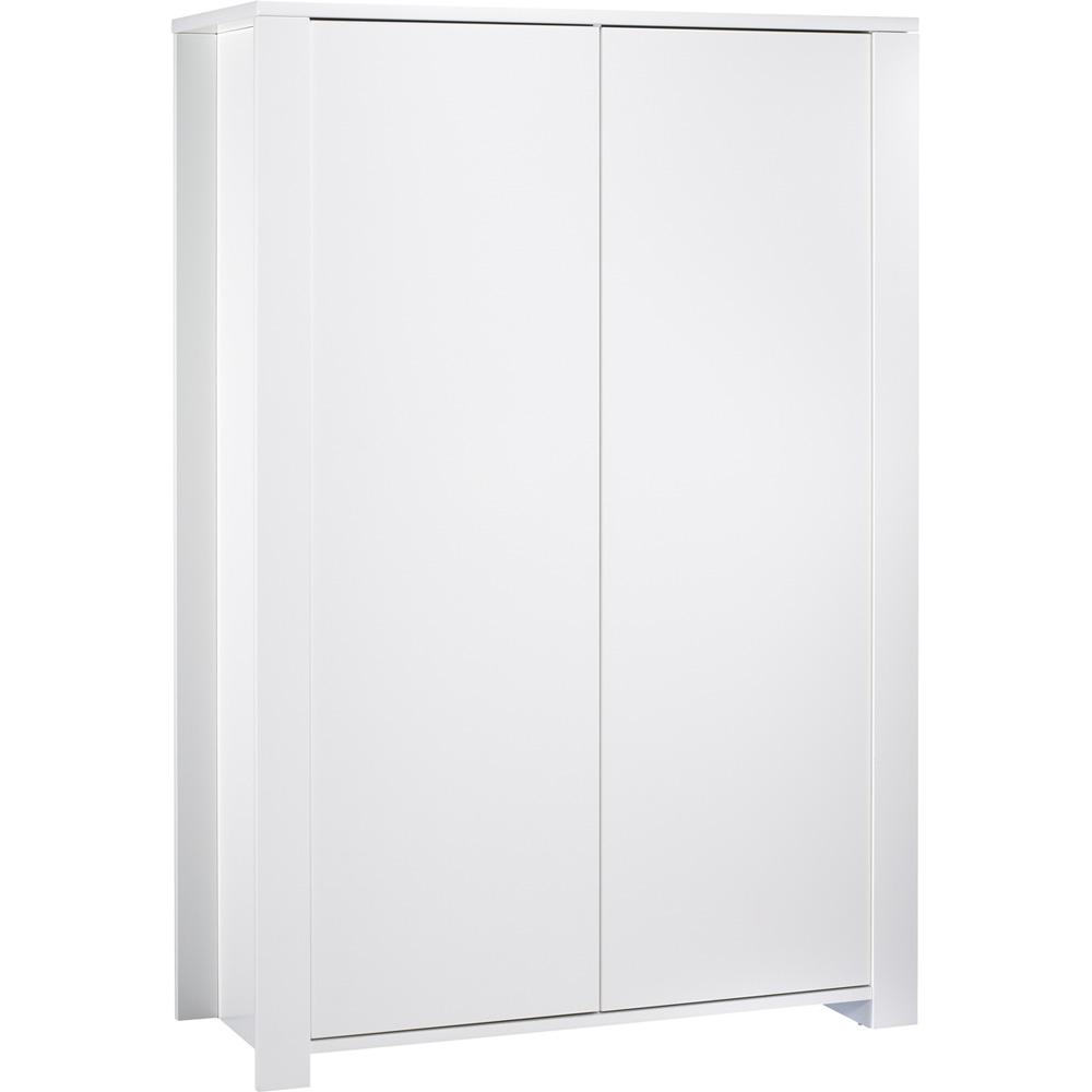Armoire chambre b b loft blanc de sauthon meubles sur for Chambre bebe meuble blanc
