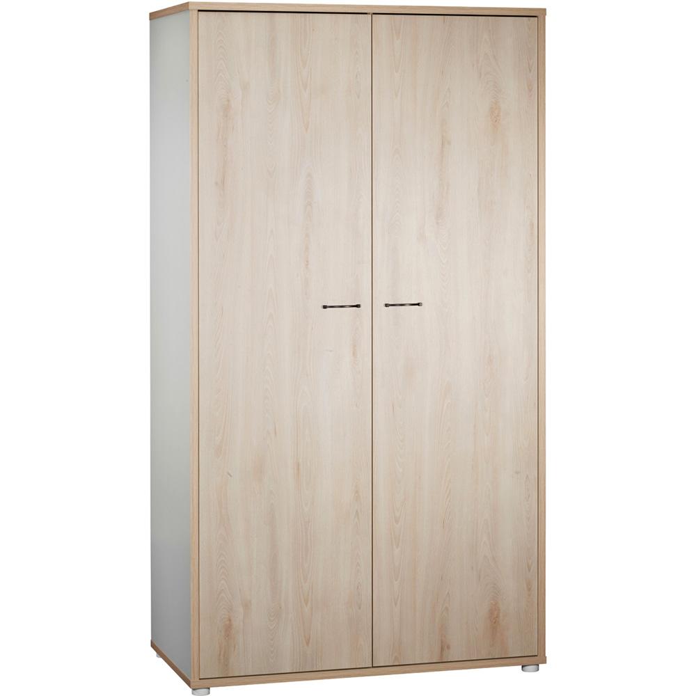 La Compagnie Du Hetre armoire chambre bébé 2 portes vintage hêtre cendré