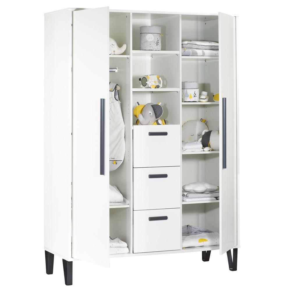 armoire chambre b233b233 graphite de sauthon meubles sur allob233b233