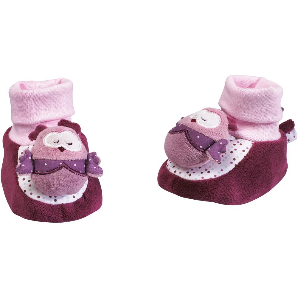 chaussons b b mam 39 zelle bou de sauthon baby deco chez naturab b. Black Bedroom Furniture Sets. Home Design Ideas
