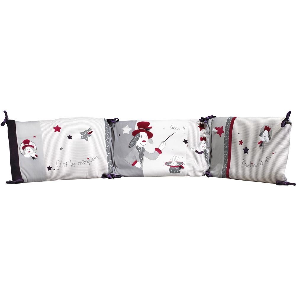 tour de lit b b olaf et faustine 50 sur allob b. Black Bedroom Furniture Sets. Home Design Ideas