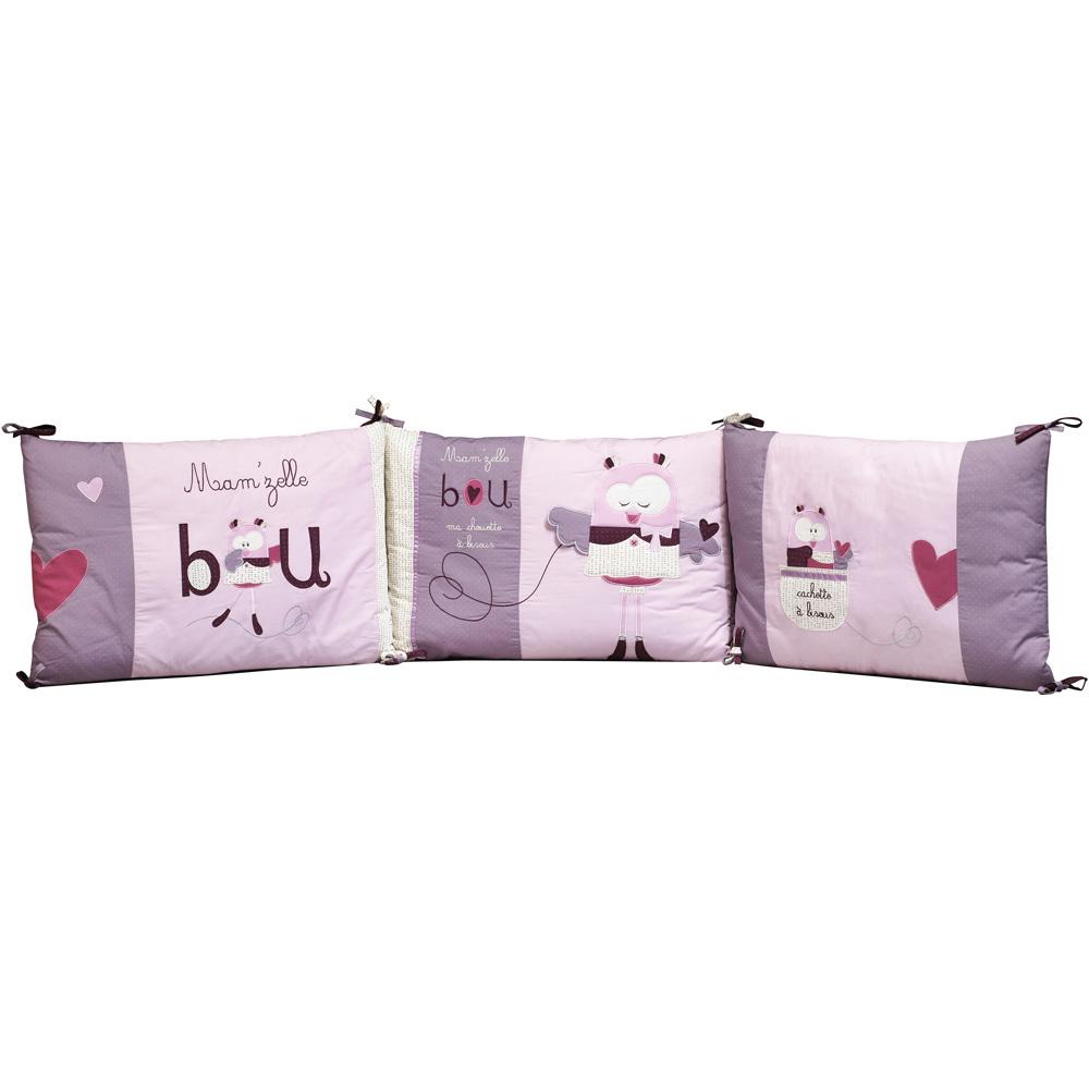 tour de lit b b mam 39 zelle bou 25 sur allob b. Black Bedroom Furniture Sets. Home Design Ideas