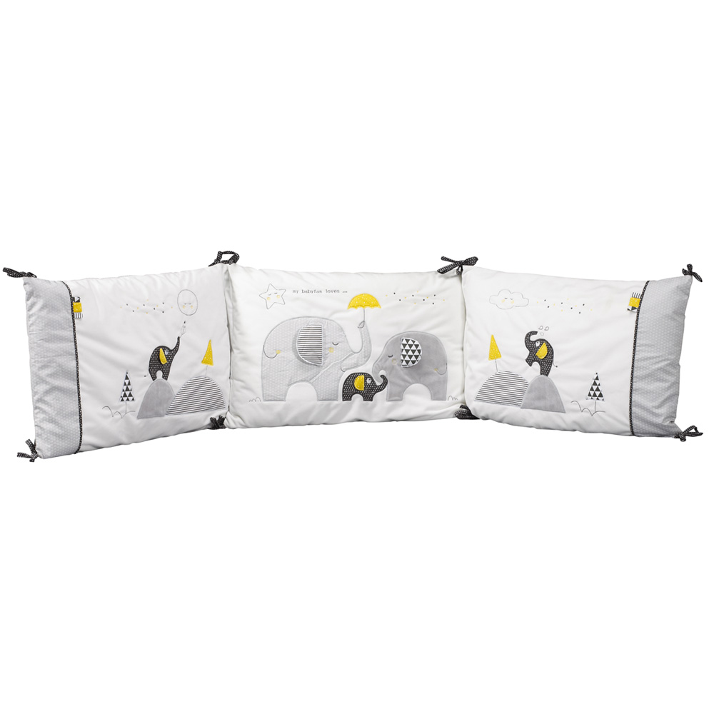 tour de lit b b babyfan de sauthon baby deco sur allob b. Black Bedroom Furniture Sets. Home Design Ideas
