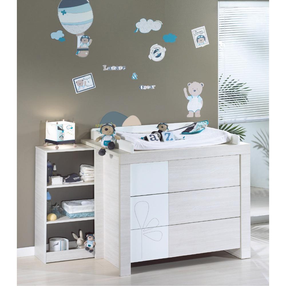stickers muraux lazare de sauthon baby deco en vente chez cdm. Black Bedroom Furniture Sets. Home Design Ideas