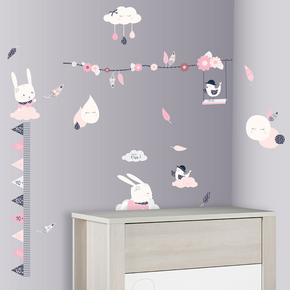 Stickers Armoire Bebe  Bright Shadow Online