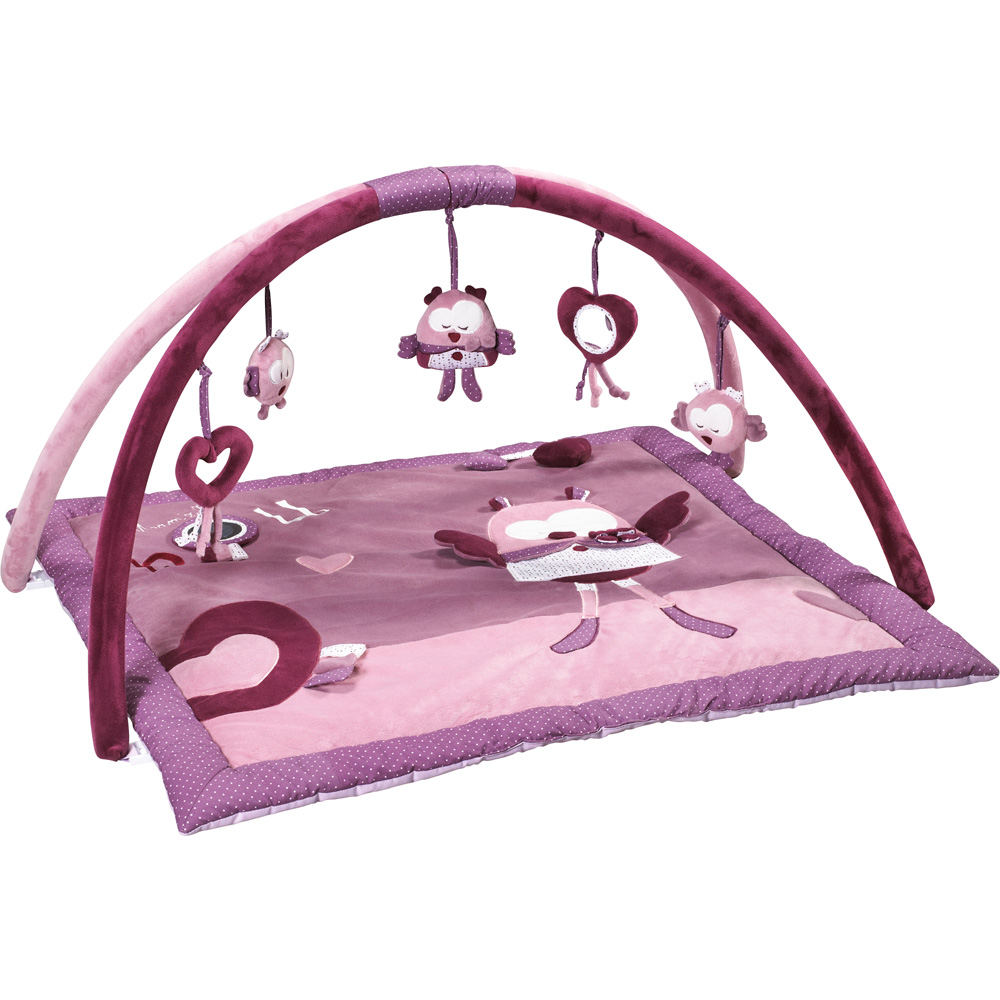 tapis d 39 veil mam 39 zelle bou de sauthon baby deco sur allob b. Black Bedroom Furniture Sets. Home Design Ideas