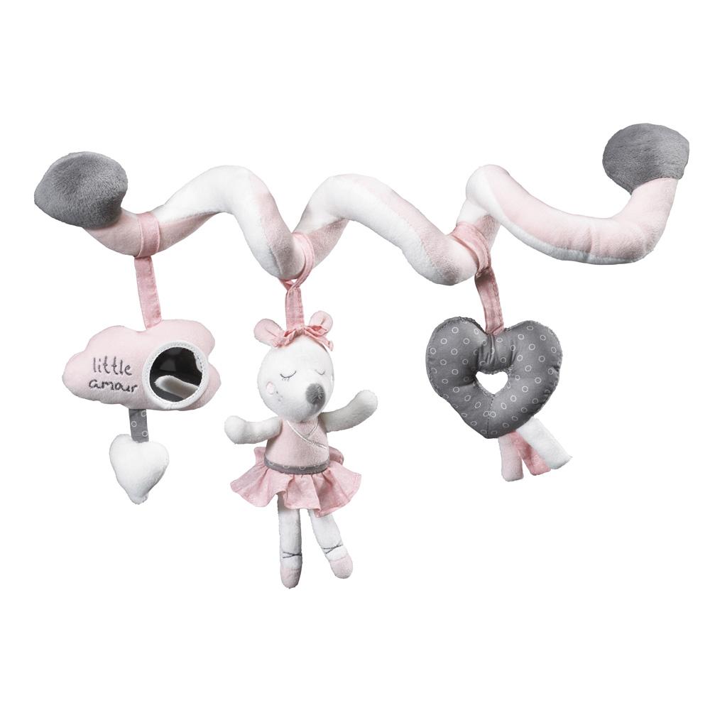 jouet de lit b b spirale lilibelle de sauthon baby deco. Black Bedroom Furniture Sets. Home Design Ideas