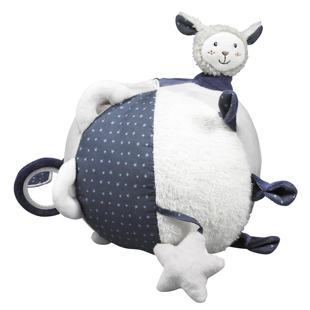 jouet d 39 veil b b balle merlin de sauthon baby deco chez. Black Bedroom Furniture Sets. Home Design Ideas