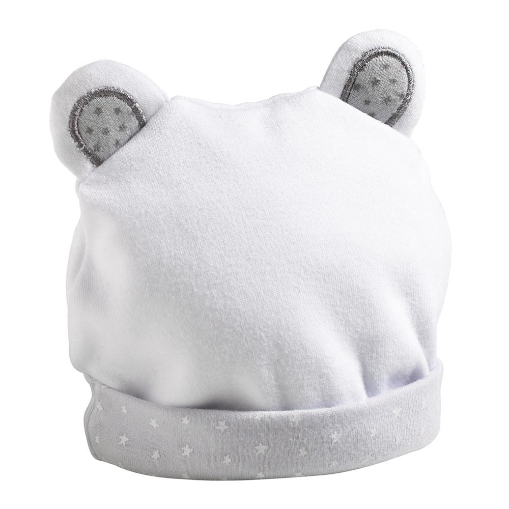 2abcfe30523d Bonnet bébé céleste de Sauthon baby deco sur allobébé