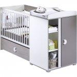 Lit bébé chambre transformable 60 x120 cm india pas cher