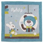 Tapis de chambre bébé 110x110cm paddy