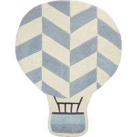 Tapis de chambre bébé 100x130cm montgolfière lazare