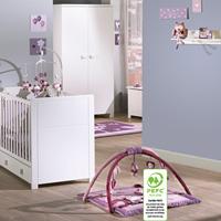 Chambre bébé duo amélia lit + armoire 2 portes