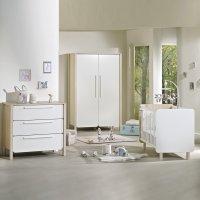 Chambre bébé trio nest lit + commode + armoire