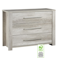 Commode 3 tiroirs emmy